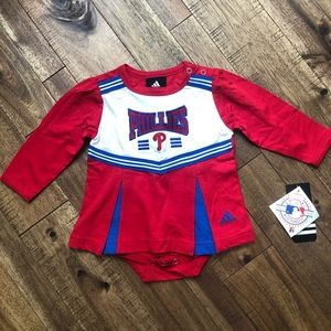 • NWT baby girl Phillies dress •